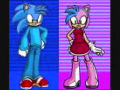 X2 Amy and Sonic Bad Romance