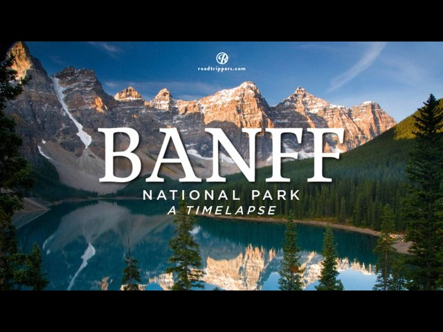 Timelapse: Banff National Park