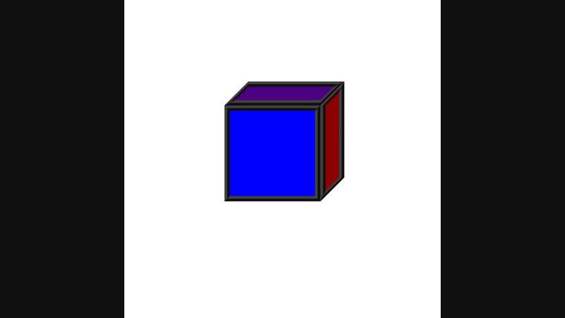 3D графика через блокнот (Часть 2) - live