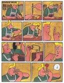 сделай сам,Смешные комиксы,веб-комиксы с юмором и их переводы,ковбой хенк,тупой ковбой хэнк,удалённое.