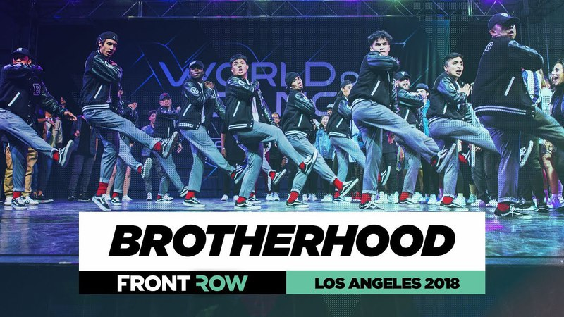 Brotherhood | FrontRow | World of Dance Los Angeles 2018 | WODLA18