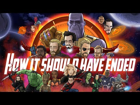 How Avengers Infinity War Should Have Ended - Animated Parody