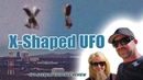 X-Shaped UFO over DARPA/AF Research Laboratory Reviewed