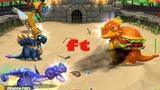 Fighting Boss Battle + Leagues 246 Boss Challenge Event , Gameplay , Dragon Mania Legends
