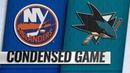 10 20 18 Condensed Game Islanders @ Sharks