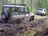 УАЗ Патриот  Гонки на выживание Гонки по грязи Gonki po grijzi