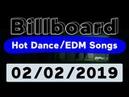 Billboard Top 50 Hot Dance/Electronic/EDM Songs (February 2, 2019) - James Blake Edition