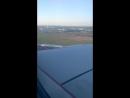посадка в аэропорт Пулково