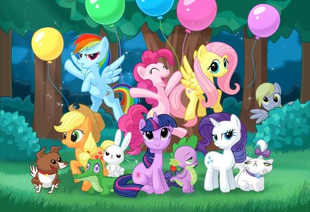 Клик Пазл маленькие пони - дружба это чудо