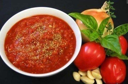 Соус сацебели из томатов
