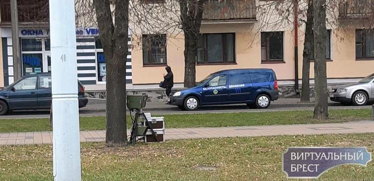 Где в Бресте и по области будут работать камеры контроля скорости 29 ноября 2018 года