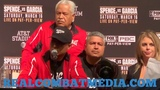 ERROL SPENCE IS A TERRIFIC CHAMPION.. SAYS MIKEY GARCIA AFTER HIS LOSS TO ERROL SPENCE JR