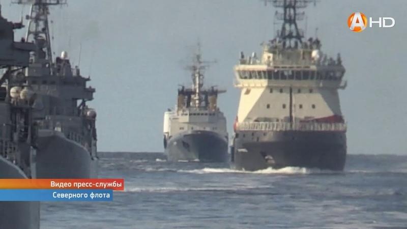 Илья Муромец год на Северном флоте