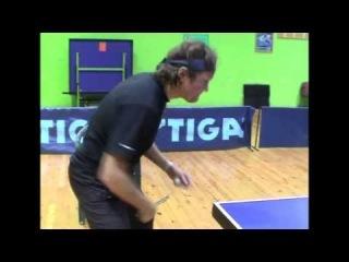 Table Tennis   техника удара слева от Виктора Толкачева