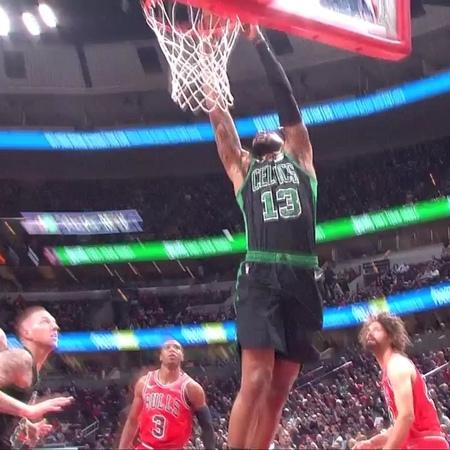 "Boston Celtics on Instagram: ""@foestar13 blows past the defense to make it a 17-0 run 💪"""