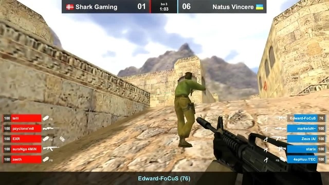 Na`Vi vs. Shark Gaming @ dust2 - 2012 - YouTube