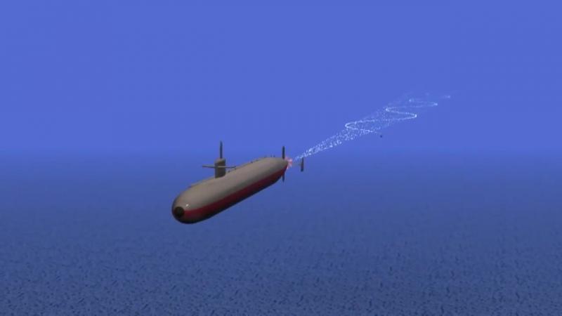 Подводная лодка и торпеда\Submarine