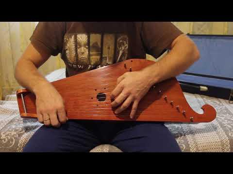 Фирменные гусли МаГИ 12 струнные Пример звучания