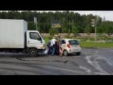 Два человека пострадали в ДТП на юго-западе Москвы