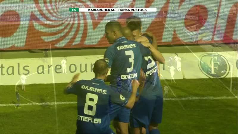 30.Spieltag 18/19: Highlights Karlsruher SC 1:1 FC Hansa Rostock
