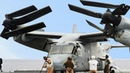 US MASSIVE Hybrid Transformer Helicopter Plane in Action V 22 Osprey CH 53E Heavy Lifting