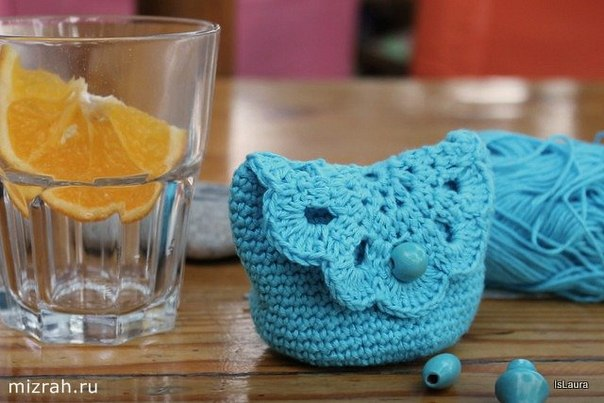 Delicadezas en crochet Gabriela: Paso a paso monedero ganchillo