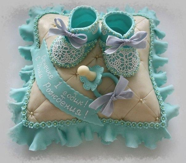 Фото торты мастичные торт на годик