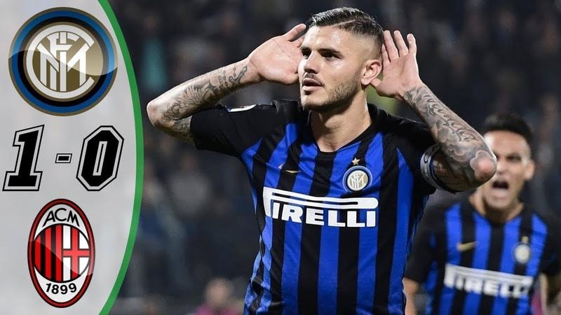 Inter Milan 1-0 Highlights 21/10/2018 HD