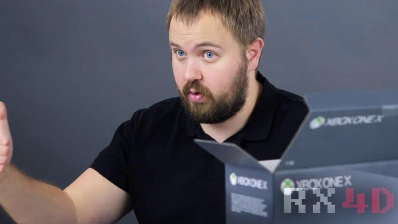 Честный обзор на Xbox One X от Wylsacom