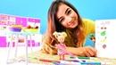 Barbie Steffie meyve listesi yapıyor. Çocuk videoları