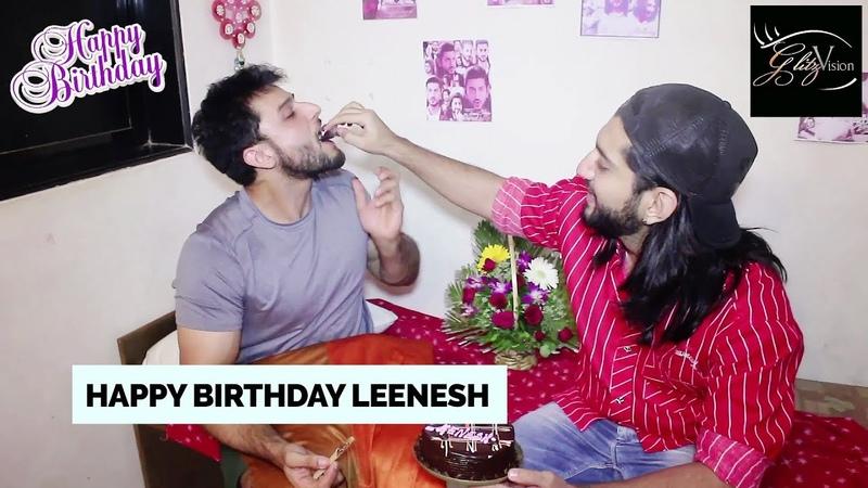Leenesh Mattoo celebrates his birthday (2018) with co-star Kunal Jai Singh | Ishqbaaaz