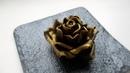 Как приготовить пластичный шоколад. Рецепт пластичного шоколада. Лепка розы из шоколада.
