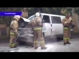 Обзор аварий. ДТП лоб в лоб - автобус и Транспортер, ул. Павла Корчагина