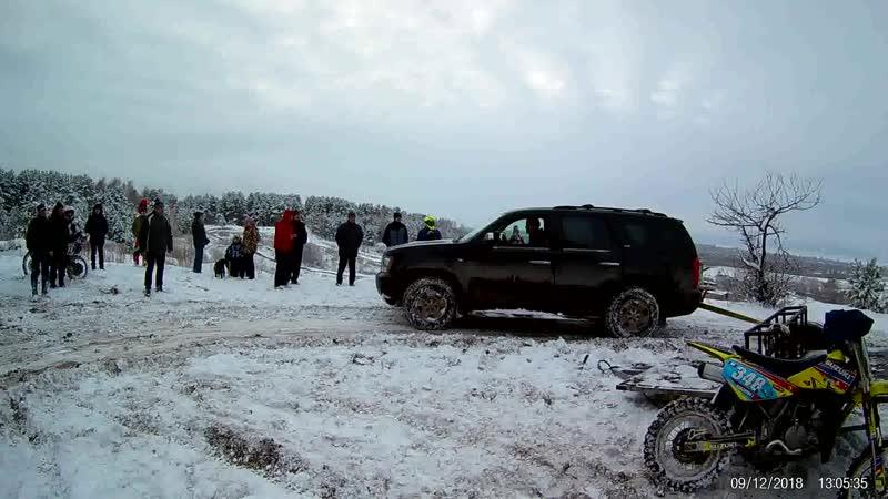 Ульяновск мотокросс тренировка 9 декабря 18г