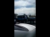 Оцепление возле рынка Жибек Жолы. Алматы