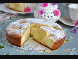 Рецепт приготовления быстрого пирога на кефире!!! Палочка- выручалочка!