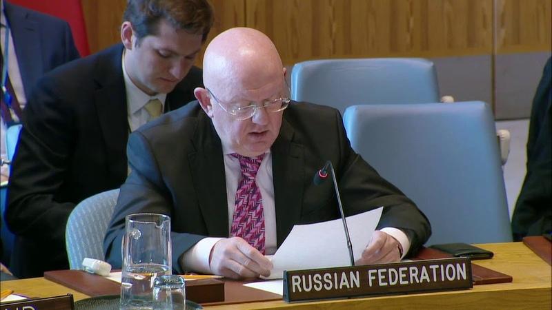 Выступление В.А.Небензи на заседании СБ ООН по Ближнему Востоку, включая палестинский вопрос