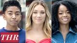 Young Hollywood Plays 'Finish This Sentence' Maddie Ziegler, Skai Jackson, Miles Brown THR