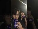 VIXX RAVI IG Live with EXO KAI TIMOTEO 180718