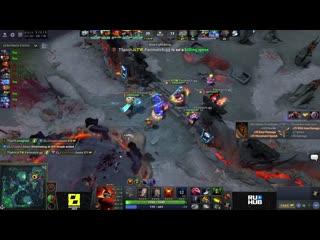 Cyber legacy vs team spirit, game 1