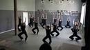 Экзамен по современному танцу - разминка, контактная импровизация