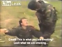 Croat soldiers find wounded Serb