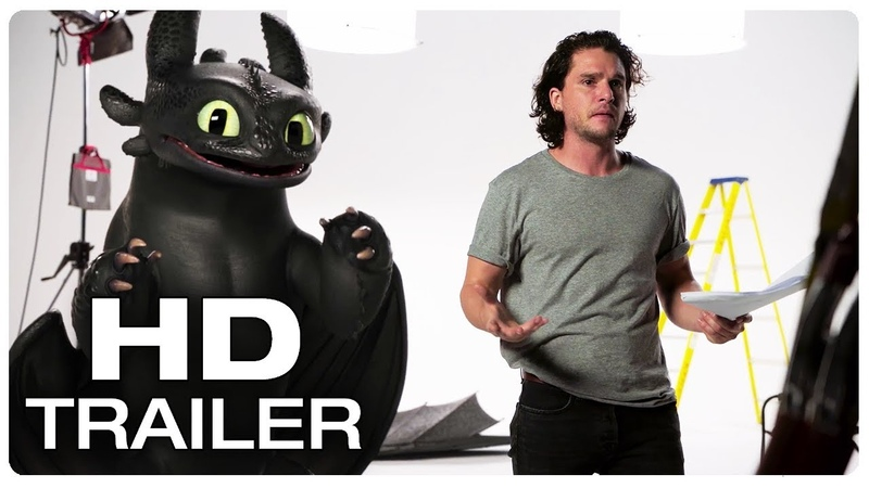 HOW TO TRAIN YOUR DRAGON 3 Toothless Vs Kit Harington Trailer (NEW 2019) Animated Movie HD