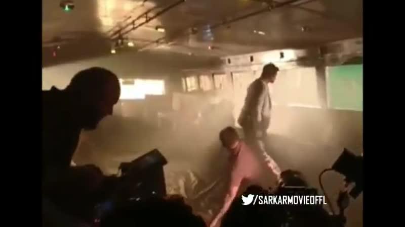 Sarkar Unseen Behind the Scene Video from the Spot ! - @ActorVijay @SarkarMovieOffl SarkarBTS