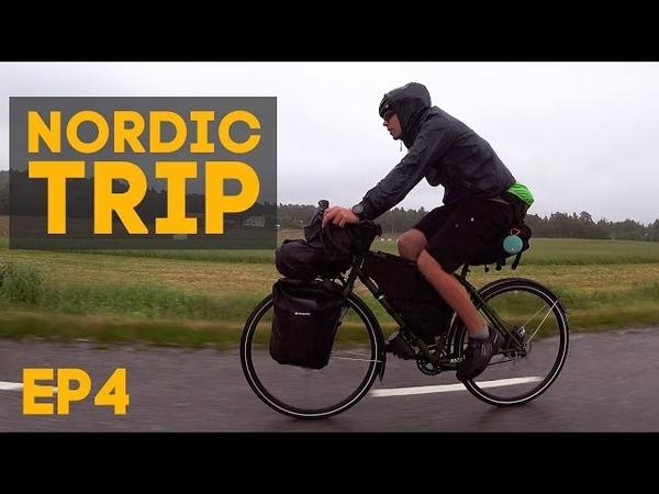 Полностью промокли, доехали до Осло на велосипедах! Велопутешествие по Скандинавии! Nordic Trip, ep4