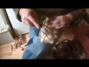 лапти по колодке из линолеума