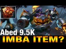 Abed TOP 1 MMR Plays Timbersaw with Solar Crest - Dota 2