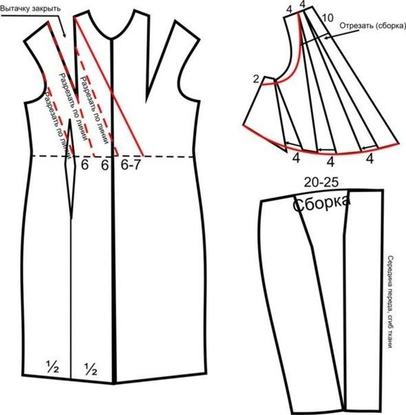 Греческое платье выкройки