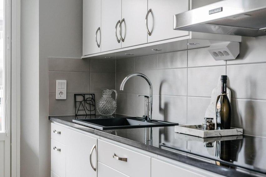 Скандинавская квартира-студия 33 м.