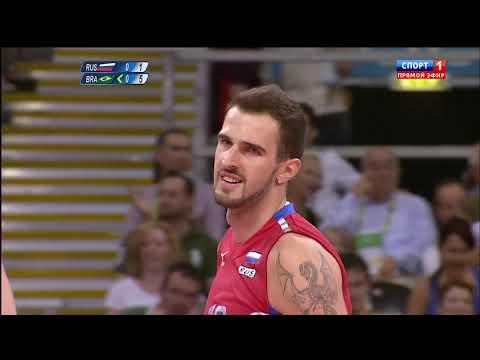 12.08.2012 Олимпийские игры Волейбол Финал Россия - Бразилия 3:2